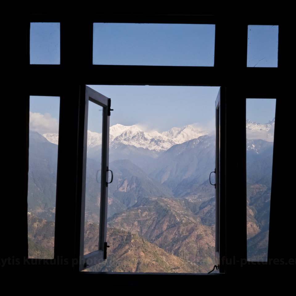 Window to Kanchenzonga